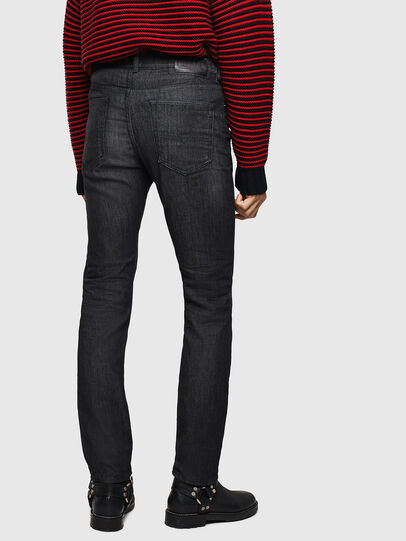 Diesel - Buster 082AT, Nero/Grigio scuro - Jeans - Image 2