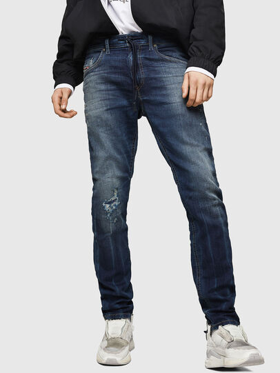 Diesel - Thommer JoggJeans 069HI, Blu Scuro - Jeans - Image 1