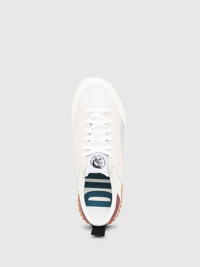 Diesel - S-BULLY LC, Bianco/Rosso - Sneakers - Image 4