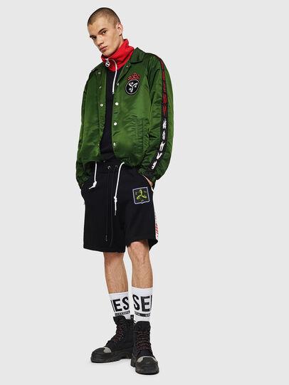 Diesel - K-ROB, Nero - Shorts - Image 5