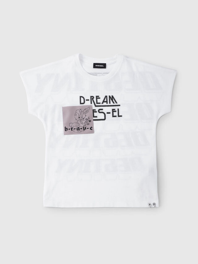 Diesel - TSOLARY, Bianco - T-shirts e Tops - Image 1