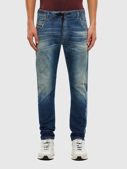 Diesel - KROOLEY JoggJeans® 009NK, Blu medio - Jeans - Image 1