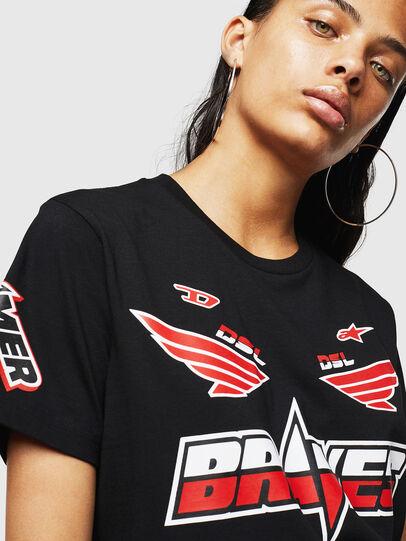 Diesel - ASTARS-T-DIEGO-FL, Nero - T-Shirts - Image 3