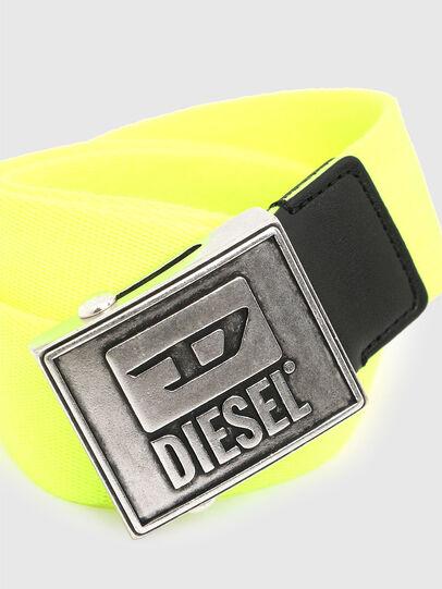 Diesel - B-METALTAPE, Giallo - Cinture - Image 2