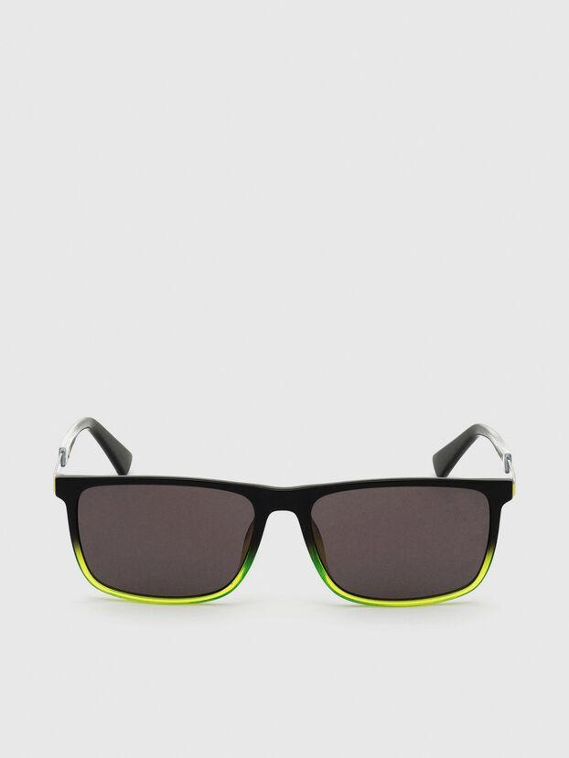 DL0312, Nero/Giallo - Occhiali da sole