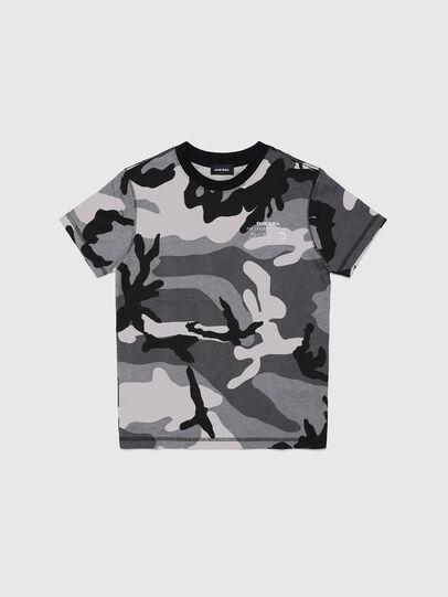 Diesel - UMLT-TDIEGOS-CF, Grigio - T-shirts e Tops - Image 1