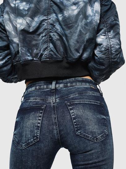 Diesel - Slandy Zip 069GW, Blu Scuro - Jeans - Image 3