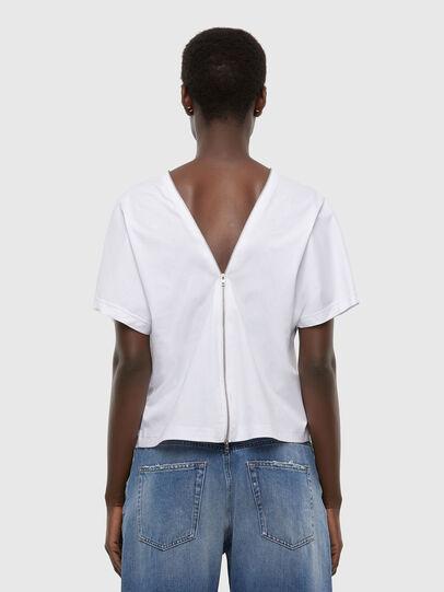 Diesel - T-SLOWLY, Bianco - T-Shirts - Image 2