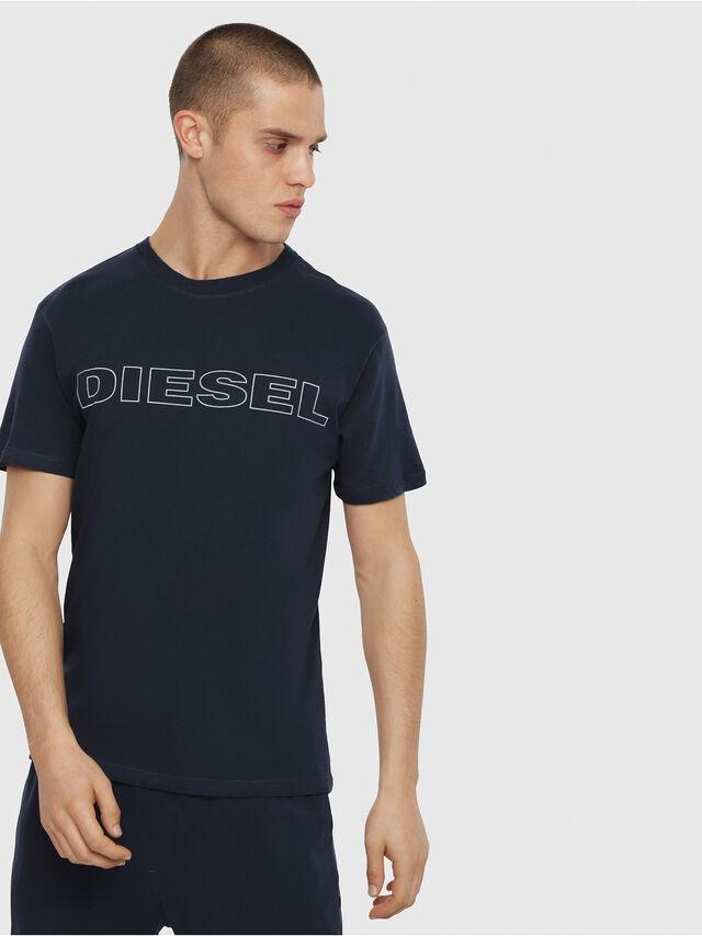 Diesel - UMLT-JAKE, Blu Notte - T-Shirts - Image 1