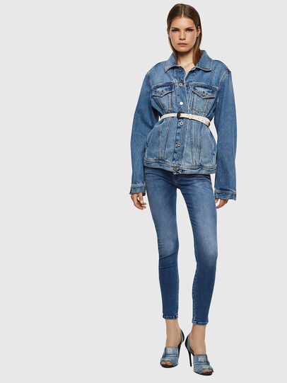 Diesel - Slandy Low 084NM, Blu medio - Jeans - Image 6
