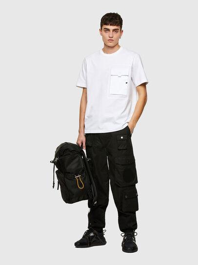 Diesel - T-WORKAN, Bianco - T-Shirts - Image 5
