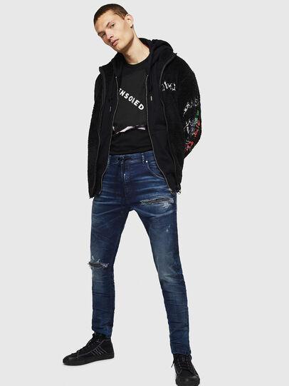 Diesel - Krooley JoggJeans 069JE, Blu Scuro - Jeans - Image 6