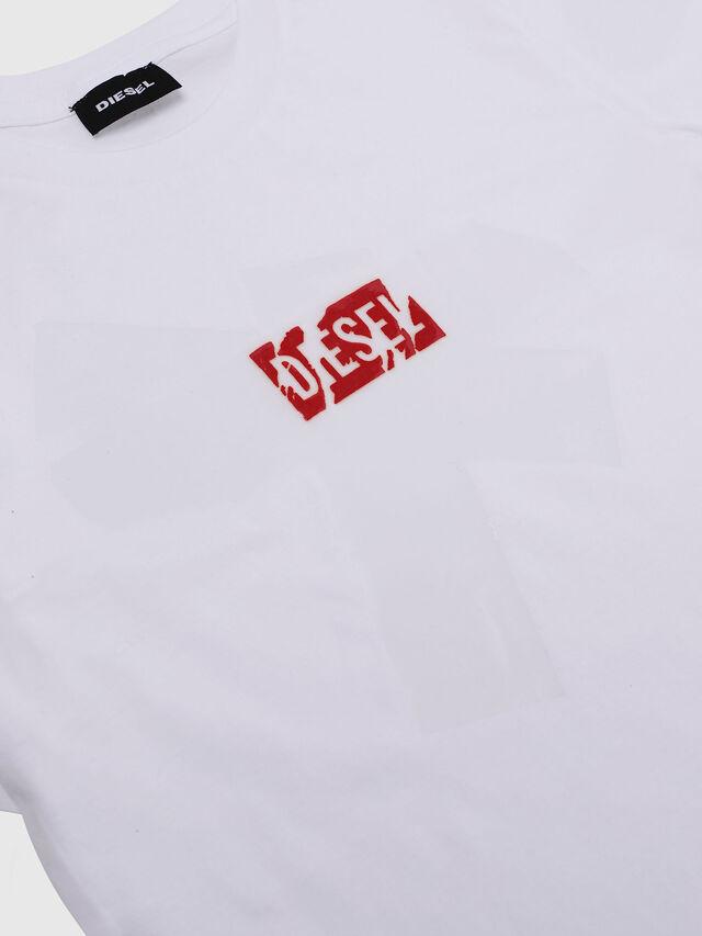 Diesel - TDIEGOSX, Bianco - T-shirts e Tops - Image 3