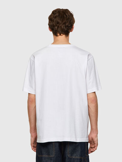 Diesel - T-TUBOLAR-B2, Bianco - T-Shirts - Image 2