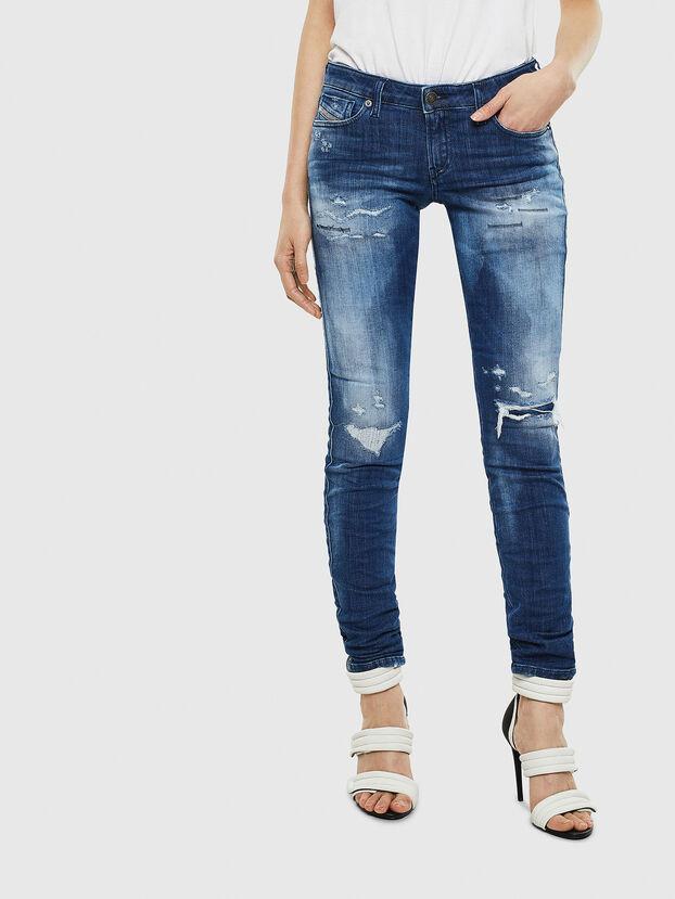 Gracey JoggJeans 0099S, Blu Scuro - Jeans