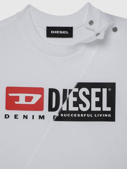 Diesel - TDIEGOCUTYB, Bianco - T-shirts e Tops - Image 3