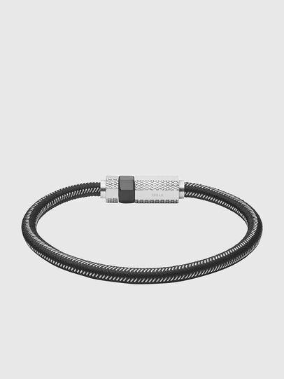 Diesel - DX1152, Nero/Argento - Braccialetti - Image 1