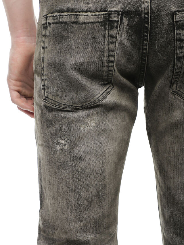 Diesel - TYPE-2813FS, Grigio Jeans - Jeans - Image 4