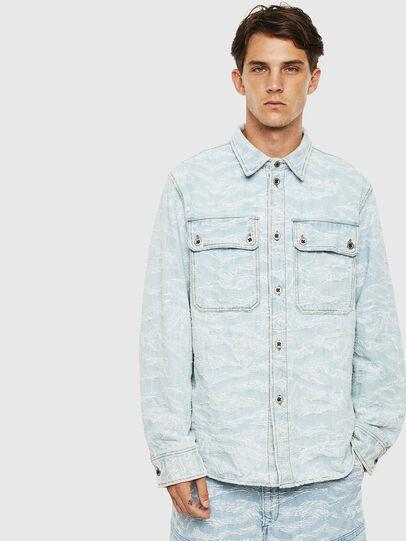 Diesel - D-JESSY, Blu Chiaro - Camicie in Denim - Image 1