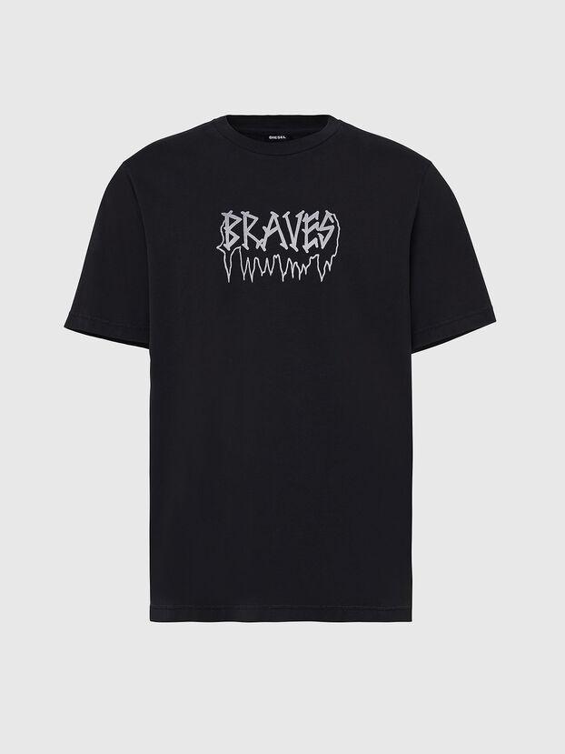 T-JUST-X67, Nero - T-Shirts