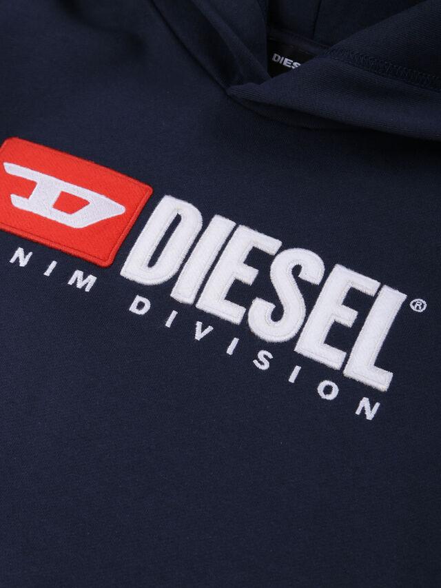 Diesel - SDIVISION OVER, Blu Notte - Felpe - Image 3