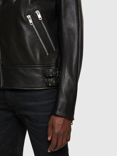 Diesel - L-GARRETT-A, Nero - Giacche di pelle - Image 3