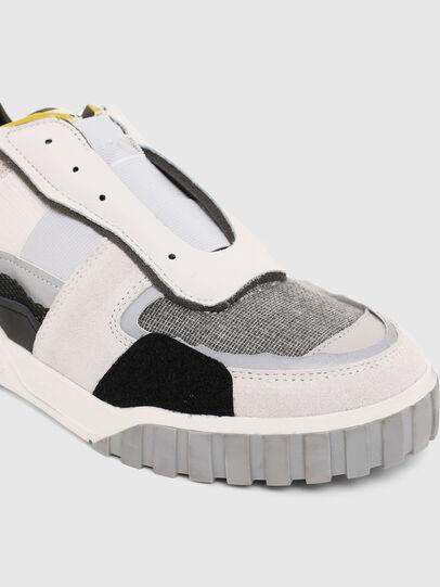 Diesel - S-RUA LOW DEC, Bianco - Sneakers - Image 5