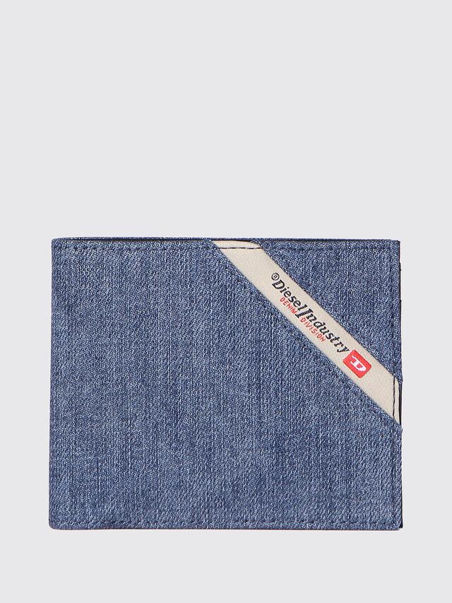 Diesel - HIRESH S, Blu Jeans - Portafogli Piccoli - Image 1