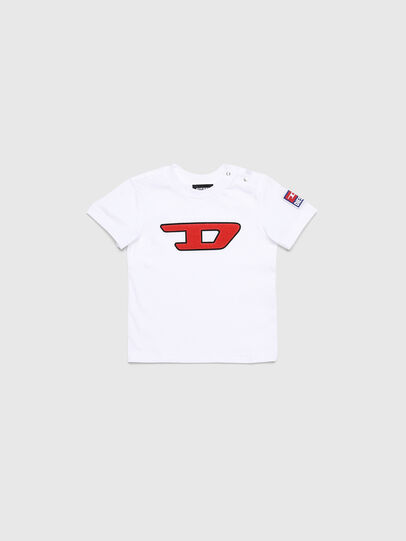Diesel - TJUSTDIVISIONB-D, Bianco - T-shirts e Tops - Image 1