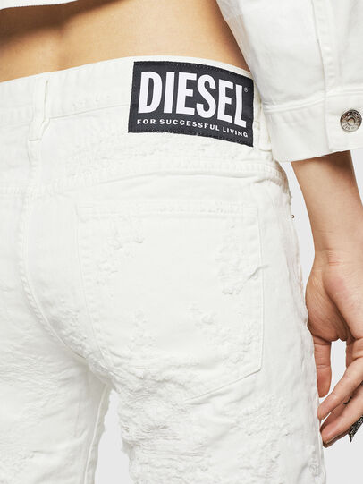 Diesel - D-Rifty 069GY, Bianco - Jeans - Image 6