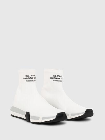 Diesel - H-PADOLA HIGH SOCK, Bianco - Sneakers - Image 2