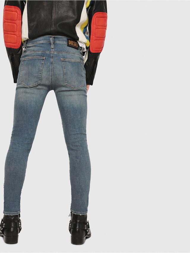 Diesel - D-Istort 085AZ, Blu medio - Jeans - Image 2