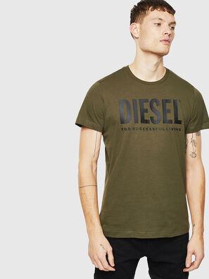 T-DIEGO-LOGO, Verde Militare - T-Shirts