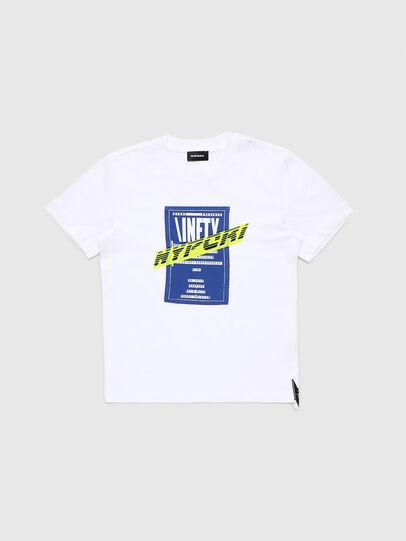 Diesel - TJUSTY7, Bianco - T-shirts e Tops - Image 1