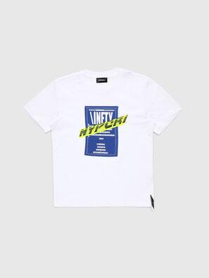 TJUSTY7, Bianco - T-shirts e Tops