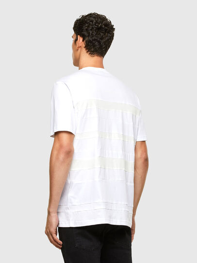 Diesel - T-LOUD, Bianco - T-Shirts - Image 2