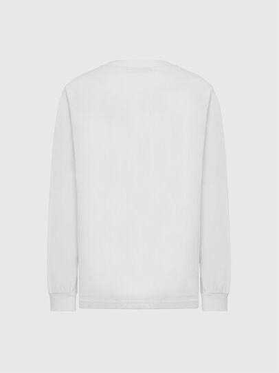 Diesel - T-JUST-LS-MOHI, Bianco - T-Shirts - Image 2