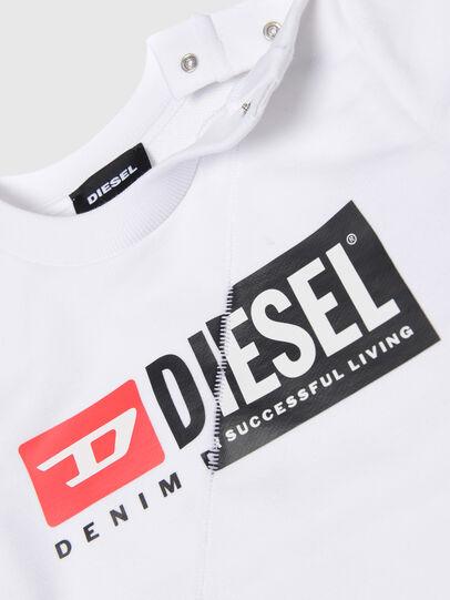 Diesel - SGIRKCUTYB, Bianco - Felpe - Image 3