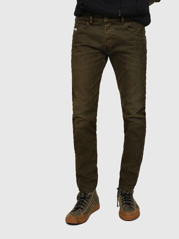 D-Bazer 0091T, Verde Militare - Jeans