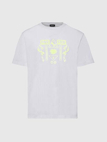 Diesel - T-JUST-X65, Bianco - T-Shirts - Image 1