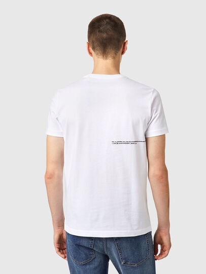 Diesel - T-DIEGOS-B21, Bianco - T-Shirts - Image 2