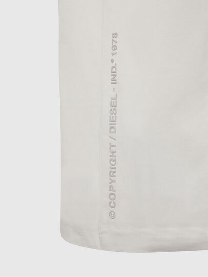 Diesel - T-JUST-X61, Bianco - T-Shirts - Image 4