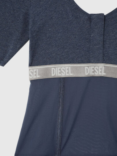 Diesel - UFTEE-TOPCUT-DN, Blu - T-Shirts - Image 3