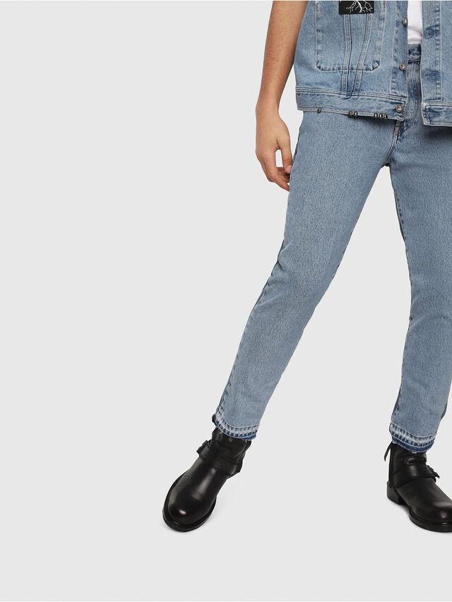Diesel - Mharky 0077Z, Blu medio - Jeans - Image 5