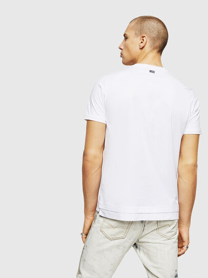 Diesel - T-DIAMANTIK-NEW, Bianco - T-Shirts - Image 2