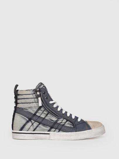 Diesel - D-VELOWS MID LACE, Blu Jeans - Sneakers - Image 1