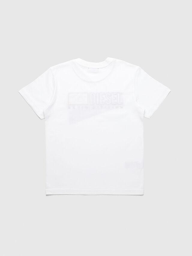 Diesel - UN-K-TJUSTDIVISION-A, Bianco - T-shirts e Tops - Image 2