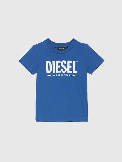 Diesel - TJUSTLOGOB-R, Blu - T-shirts e Tops - Image 1