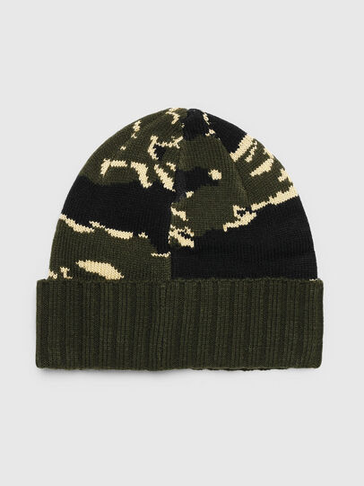 Diesel - K-MASK, Verde/Nero - Cappelli invernali - Image 2