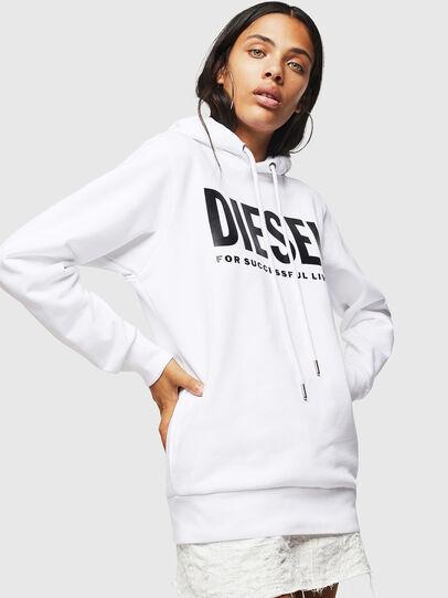 Diesel - F-GIR-HOOD-DIV-LOGO-,  - Felpe - Image 1